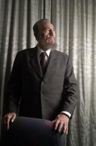 Fidel Castro, político. Buenos Aires, Argentina. 2003.
