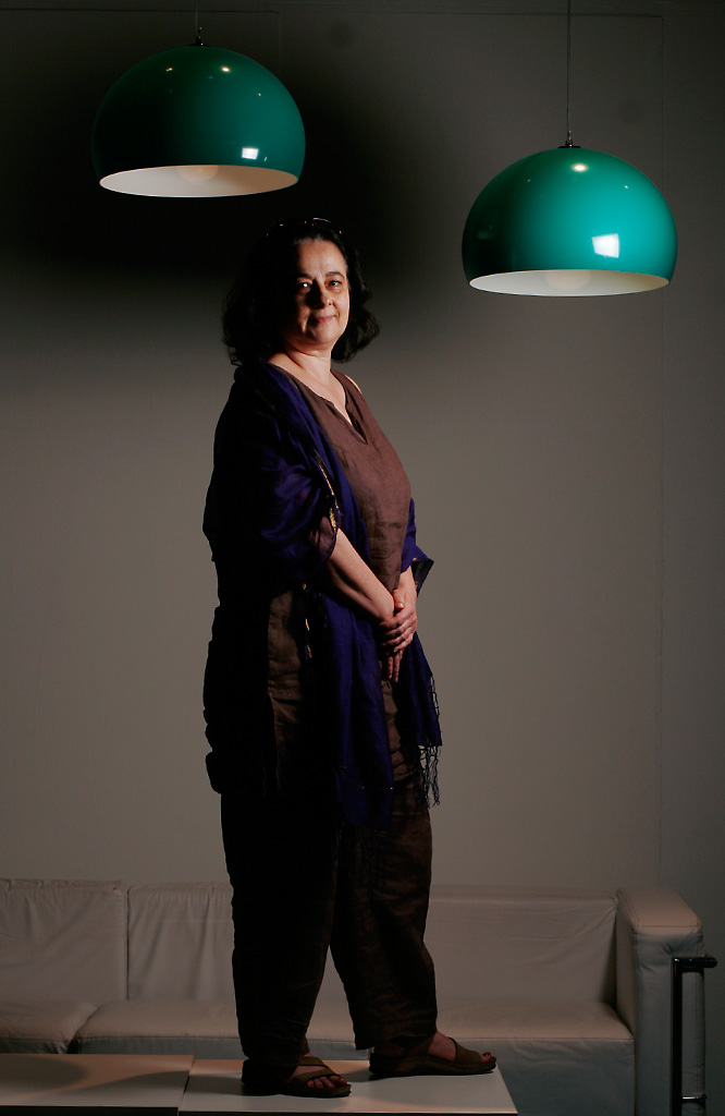 Simone Button, cineasta. Buenos Aires, Argentina. 2009