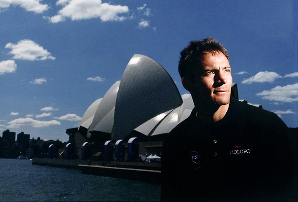 Carlos Espínola, deportista. Sidney, Australia. 2000.