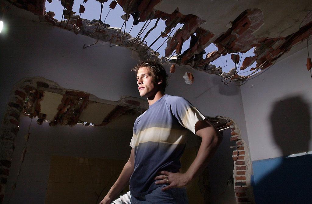 Germán Denís, deportista. Buenos Aires, Argentina. 2003.